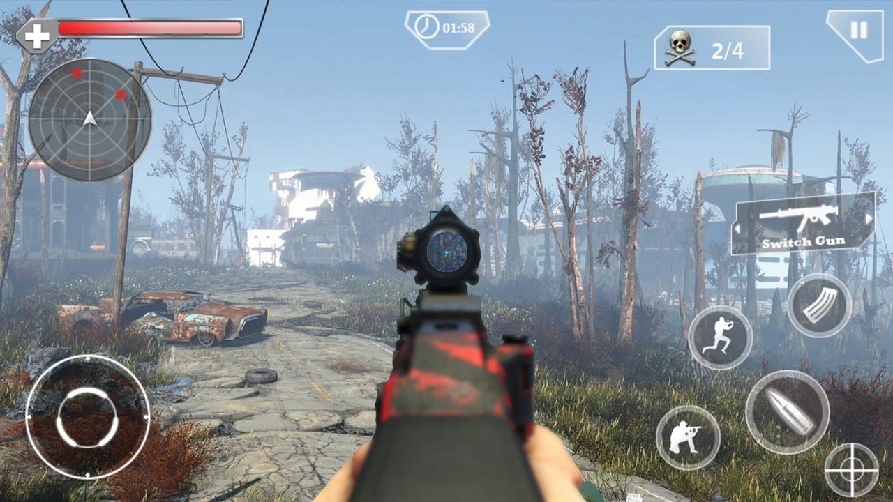 Counter Terrorist Sniper Shoot MOD APK
