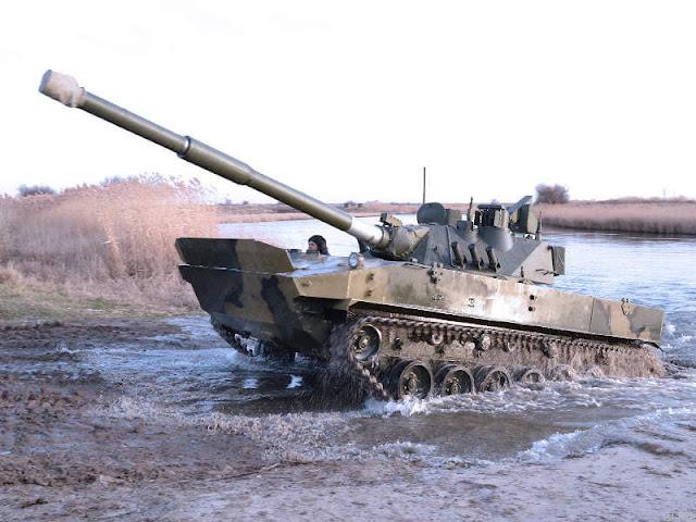 tank hạng nhẹ Sprut SDM1