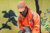 Viral ! Petugas PPSU Tanah Sereal Temukan Seekor Biawak Raksasa
