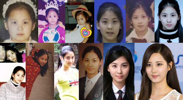 SNSD Childhood Pictures