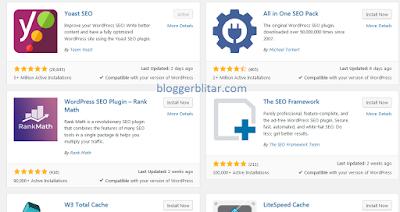 Plugin SEO yang ada di Wordpress