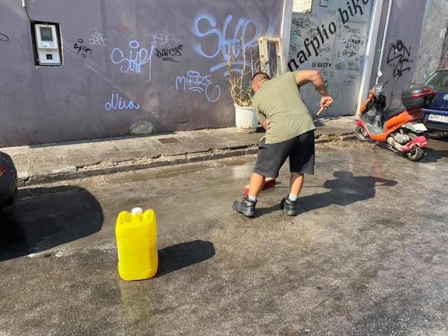 Εκτεταμένες παρεμβάσεις καθαριότητας στο Ναύπλιο