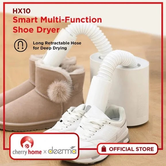 Cherry Home Deerma HX10 Anti-bac Shoe Dryer Now Available for Only Php2,990