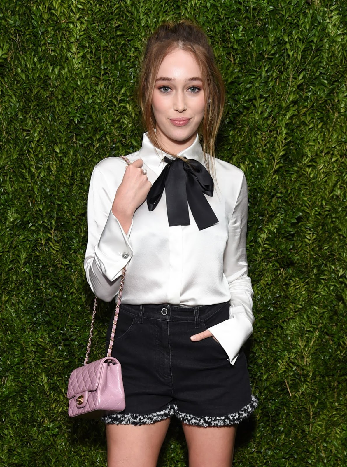 HQ Photos of Alycia Debnam Carey At Chanel Fine Jewelry Dinner At Bergdorf Goodman
