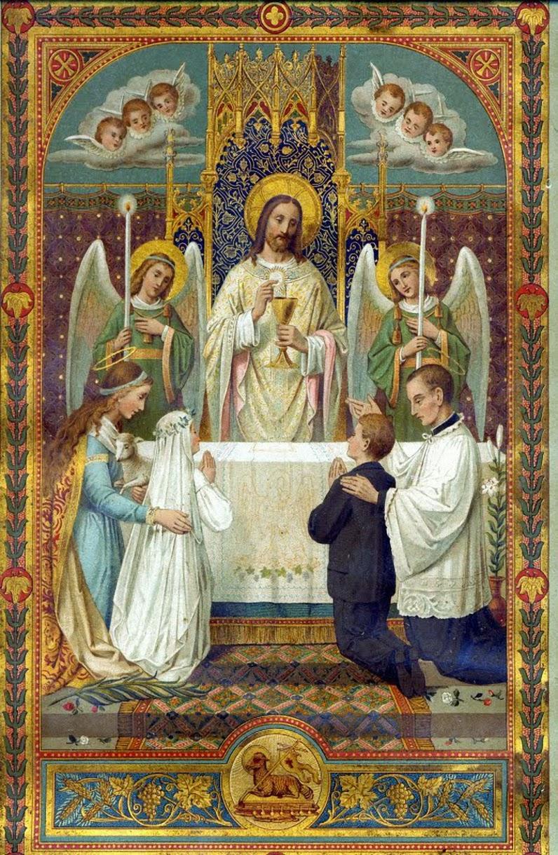 Nacer santa misa de primeras comuniones for Cafetin colegio las colinas