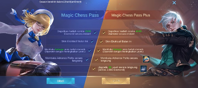 Cara Membeli Magic Chess Pass