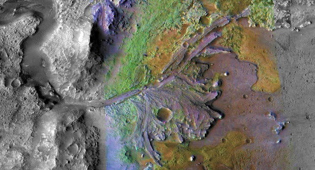 at future mars landing spot scientists spy mineral that could preserve signs of ancient life
