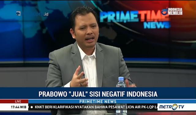 Langkah Prabowo Jual Isu Negatif di Luar Negeri Keliru #Video