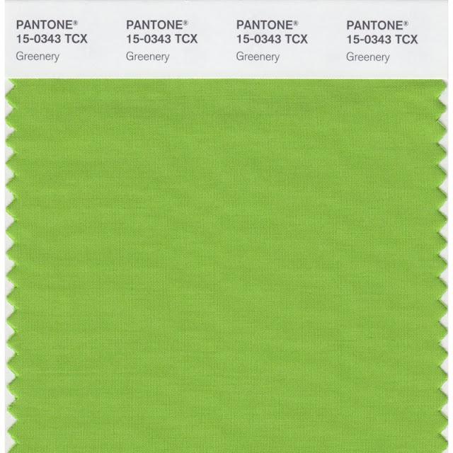 Greenery: A cor de 2017 segundo a Pantone