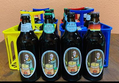 Arte do Desenhista Marcelo Lopes de Lopes para a cerveja Origens Beer