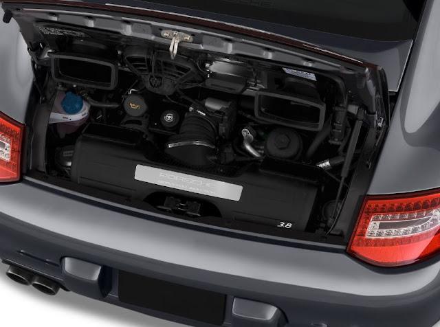 2017 Porsche 911 Carrera 4S Engine