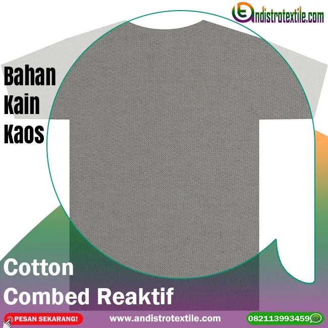 Toko Bahan Kaos Tasikmalaya Cotton Combed 30s Eceran Plus Rib