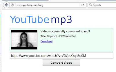 Cara Download Video Youtube Langsung Menjadi MP3