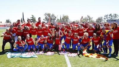FÚTBOL - El Atlético de Madrid campeón por primera vez de la Liga Iberdrola, y como invicto