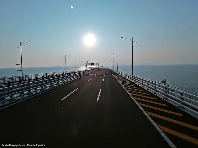 HZMB - PONTE HONG KONG ZHUHAI MACAO BRIDGE - PONTE MACAU HONG KONG