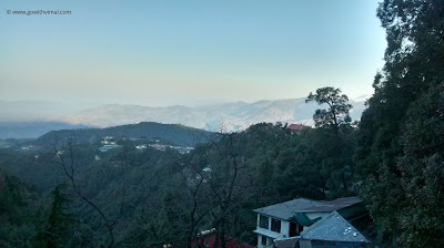 View from Subhash Chowk, Dalhousie