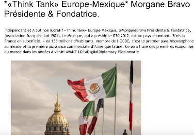 💫*«Think Tank» Europe-Mexique* @EuropeMex