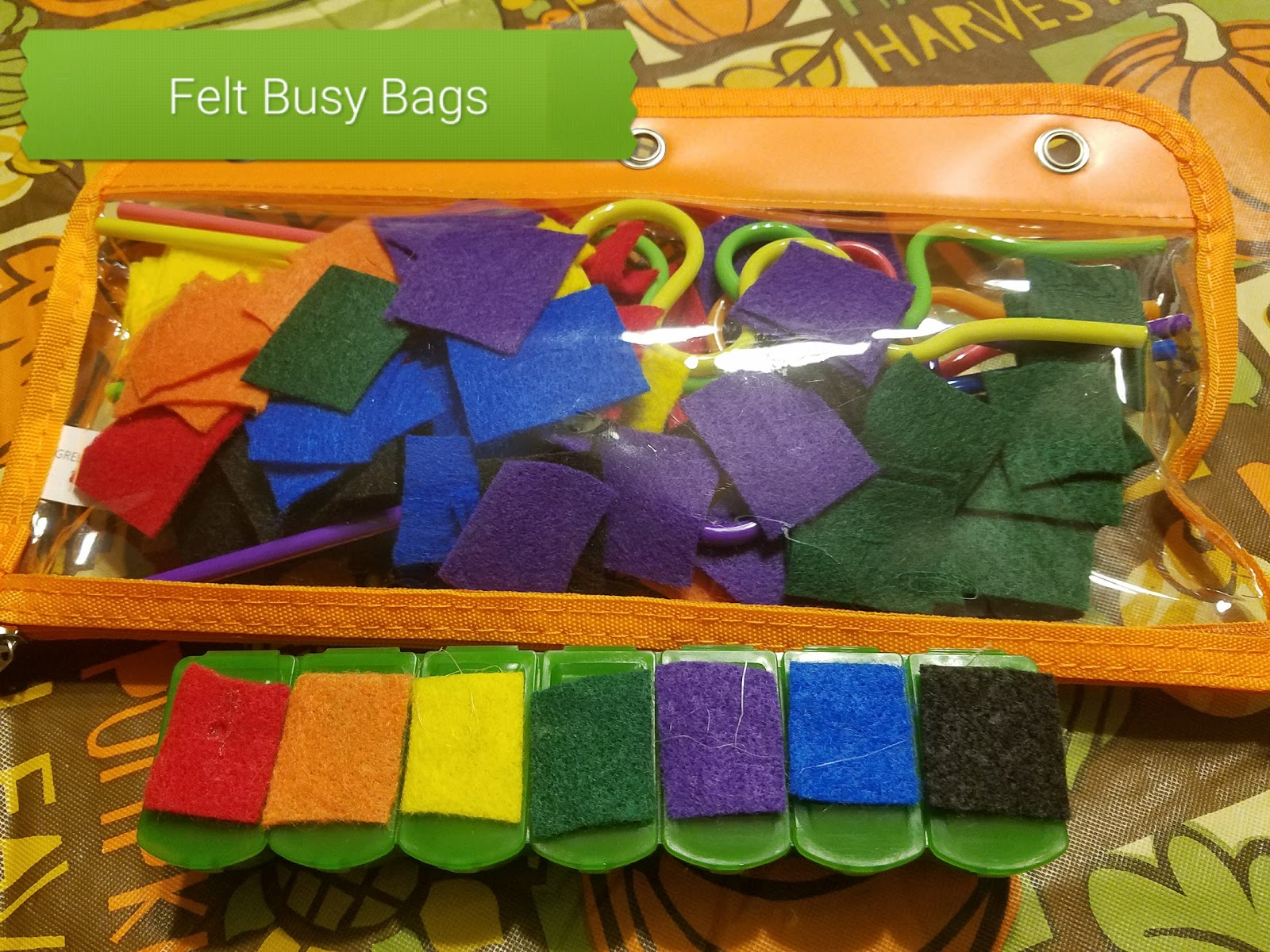 Doing It My Own Way Diy Felt Toddler Busy Bag Crafts