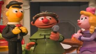 Sesame Street Bert and Ernie's Great Adventures Ernlock Holmes