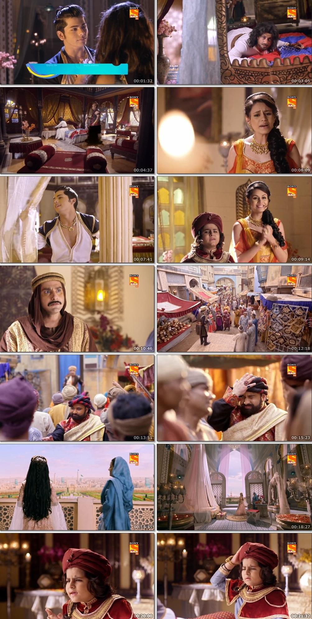 Screenshots Of Hindi Show Aladdin – Naam Toh Suna Hoga 2019 Episode 245 300MB 720P HD