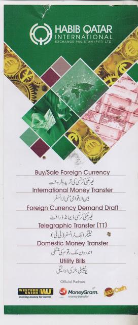Habib Qatar international Exchange Branches Network