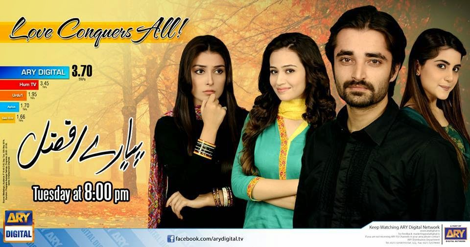 Ramblings of a Pakistani Drama Fan: Pyaray Afzal - Ab Tak
