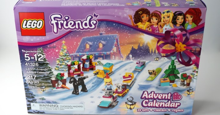 Lego Friends Advent Calendar 2017 Instructions
