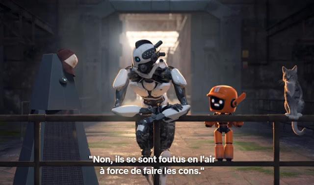 Les trois robots de Love, Death and Robots ont chacun des caractéristiques bien marquées.