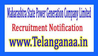 Maharashtra State Power Generation Company Limited MAHAGENCO Recruitment Notification 2017