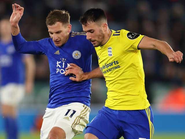 Video Leicester 1-0 Birmingham: Hãm thành phung phí, vỡ òa phút cuối