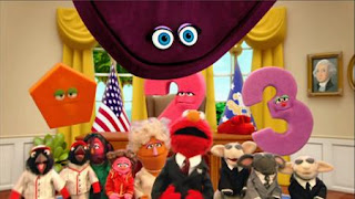 Elmo the Musical President the Musical, President of the United States, the Red House, Sesame Street Episode 4406 Help O Bots, Help-O-Bots season 44