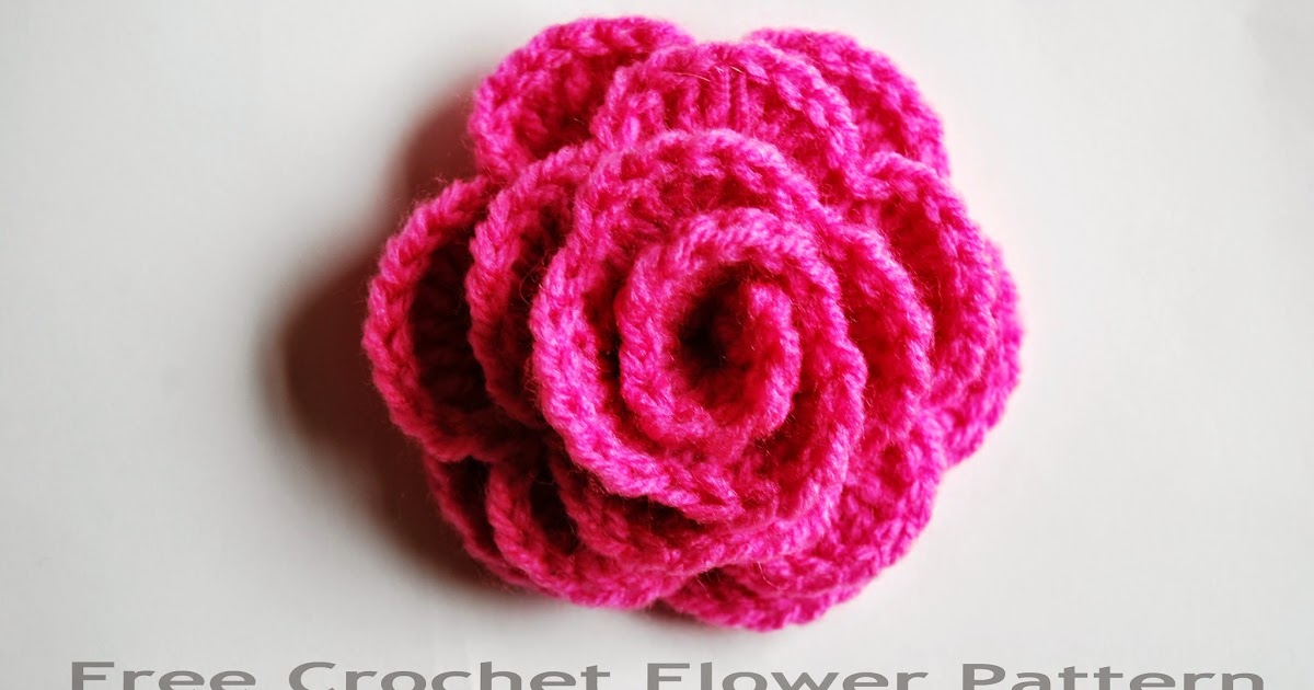Free Crochet Patterns And Designs By Lisaauch Free Crochet Flower