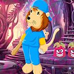 Games4King - G4K Audacious Lion Escape Game