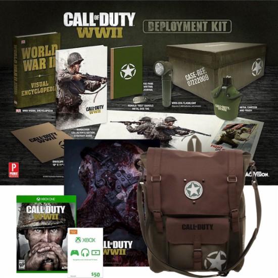Se filtra edición de 250 dólares de Call of Duty WWII