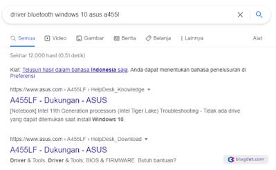 Pencarian di internet