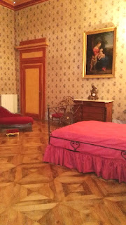 Immagine della camera da letto di Vittorio Emanuele II