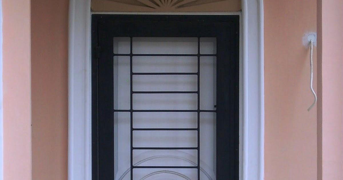23 Model Pengaman Pintu Besi Minimalis Motif Masa Kini