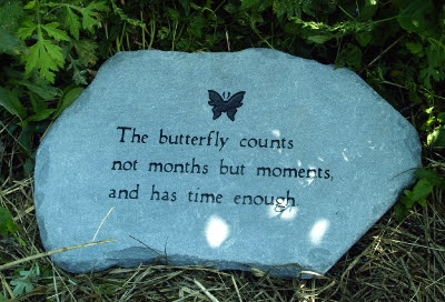 Personalized Garden Stones at Home