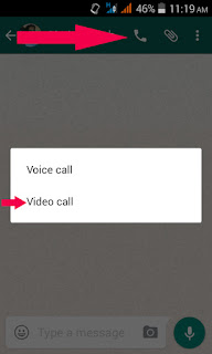 Whats apps video calling