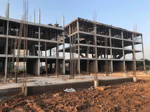 Tiến độ dự án Shophouse Khai Sơn City