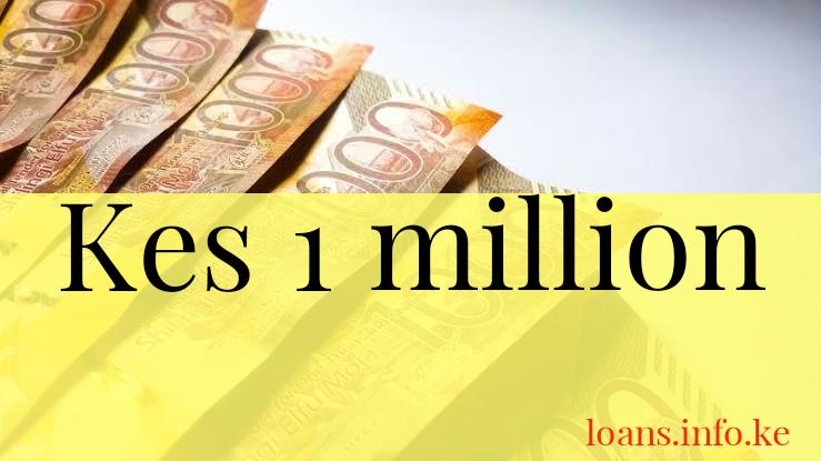 Ksh 1 million