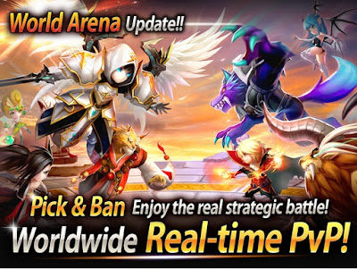 Summoners War Sky Arena Mod Apk+Tips Crystals 2018