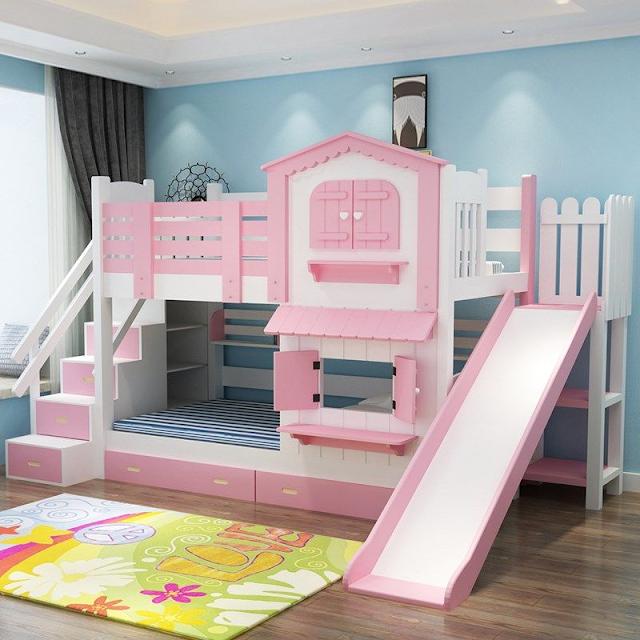 Giường tầng kiểu ngôi nhà