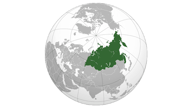 Peta Asia Utara