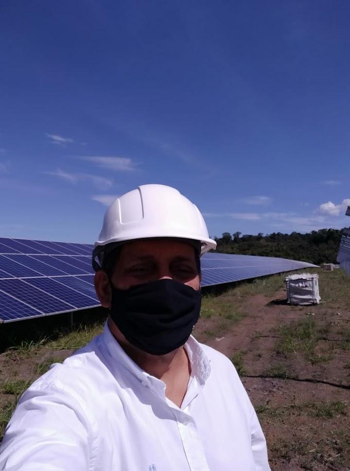 INOVAÇÃO e ECONOMIA - Ex-prefeito Paulo Marinho é um dos defensores ardorosos da energia limpa
