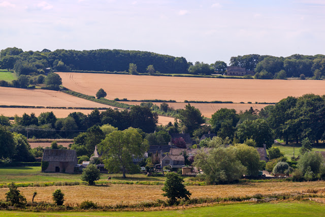 Cotswolds village of Astall nestled in the Oxfordshire countryside by Martyn Ferry Photography