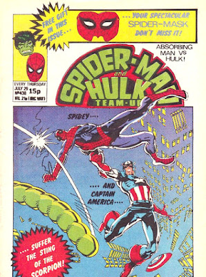 Spider-Man and Hulk Team-Up #438, Captain America and the Scorpion