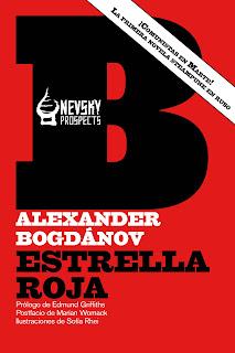 Estrella roja, por Alexander Bogdánov