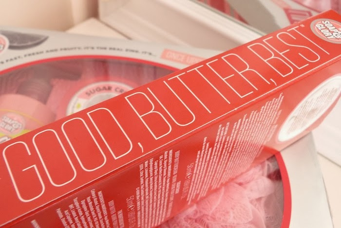 an image of soap and glory body butters