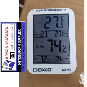 Jual Hygrometer Thermometer Dekko 637 di Malang